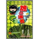 忍者貓厚片脆海苔-芥末